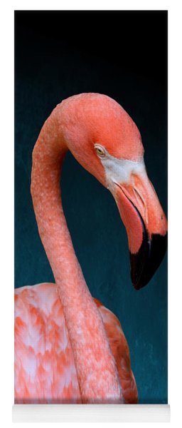 Entirely Unimpressed Flamingo Yoga Mat