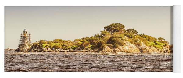 Entrance Island Lighthouse, Hells Gates Yoga Mat