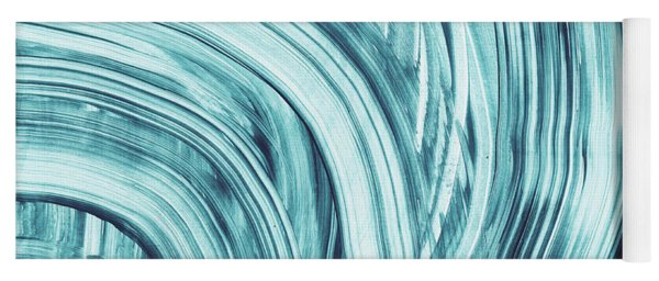 Entranced 1- Abstract Art By Linda Woods Yoga Mat