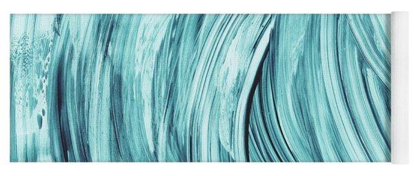 Entranced 2- Abstract Art By Linda Woods Yoga Mat