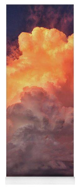 Epic Storm Clouds Yoga Mat