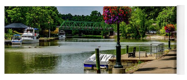 Erie Canal Vacation Yoga Mat