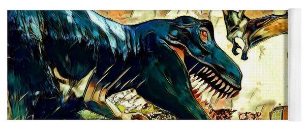 Escape From Jurassic Park Yoga Mat