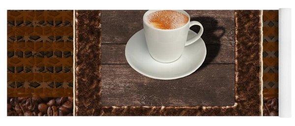 Espresso - Coffee Art Yoga Mat