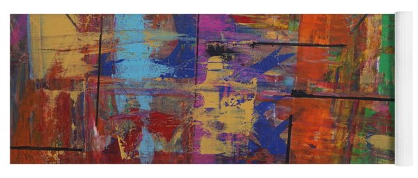 Yoga Mat featuring the painting Essence by Jimmy Clark