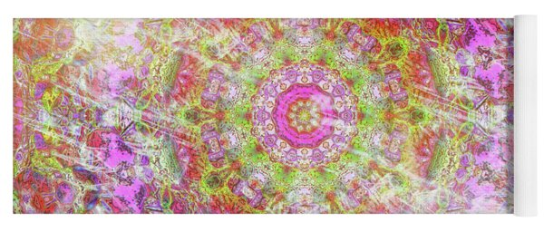 Esther In Smoke And Fire Yoga Mat