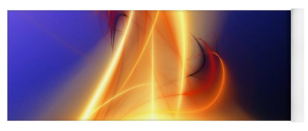 Eternal Flame Yoga Mat