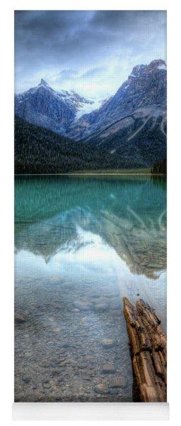 Eternal Reflections Emerald Lake Yoho National Park British Columbia Canada Yoga Mat