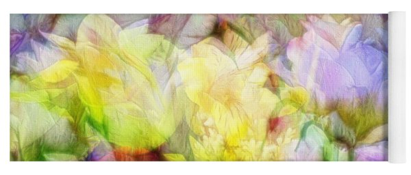 Ethereal Flowers Yoga Mat