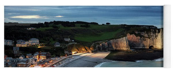 Etretat In The Evening Yoga Mat