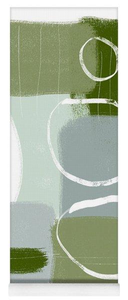 Eucalyptus Breeze  2- Art By Linda Woods Yoga Mat