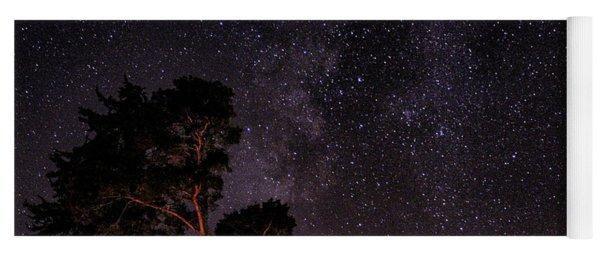 Eucalyptus Galaxy Yoga Mat