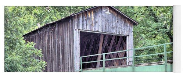 Euharlee Creek Covered Bridge Yoga Mat