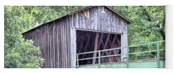 Euharlee Creek Covered Bridge Yoga Mat