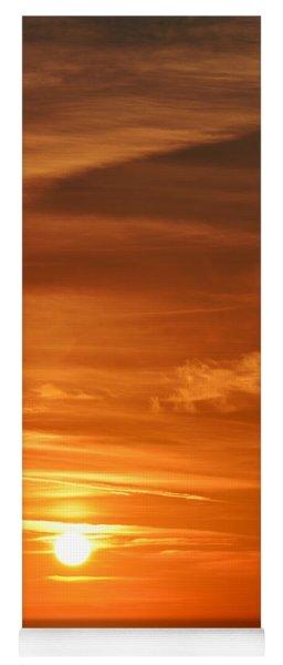 Evening Abstract 5 Yoga Mat