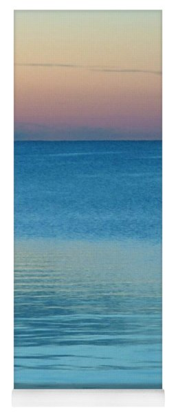 Evening At The Lake Yoga Mat