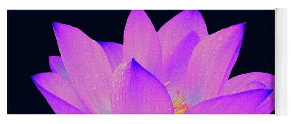Evening Purple Lotus  Yoga Mat