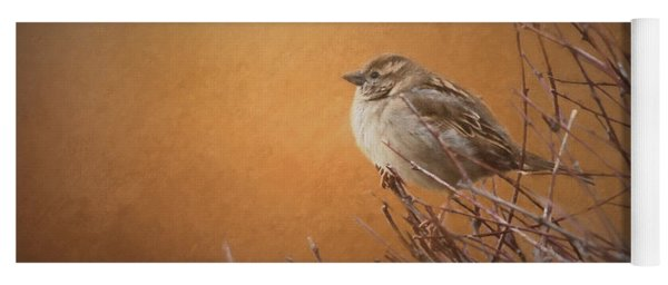 Evening Sparrow Song Yoga Mat