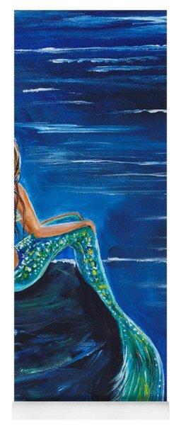 Evening Tide Mermaid Yoga Mat