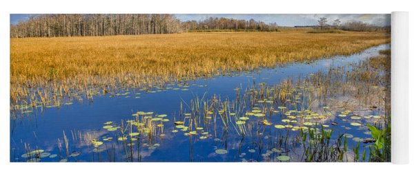 Everglades Blues Yoga Mat