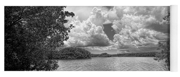 Everglades Lake - 0278abw Yoga Mat