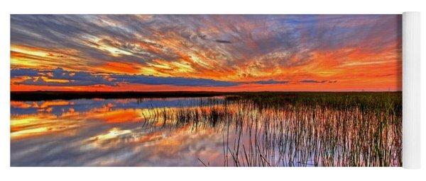 Everglades Sunset Yoga Mat