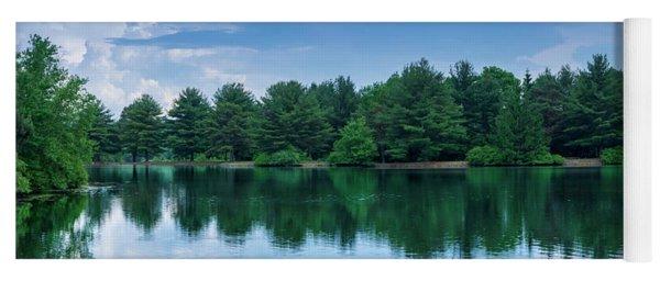 Evergreen Lake Reflections Yoga Mat