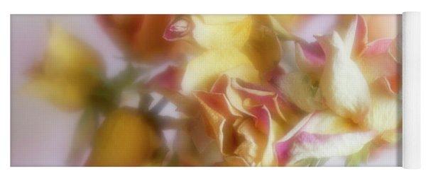 Everlasting Rose Buds Yoga Mat