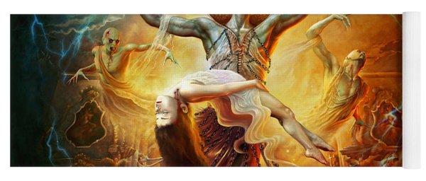 Evil God Yoga Mat