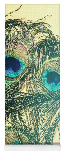 Exotic Eye Of The Peacock Yoga Mat