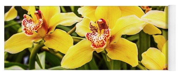 Exotic Orchids  Yoga Mat