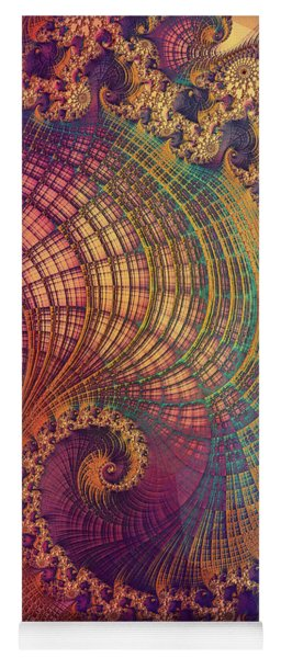 Yoga Mat featuring the digital art Explore by Susan Maxwell Schmidt