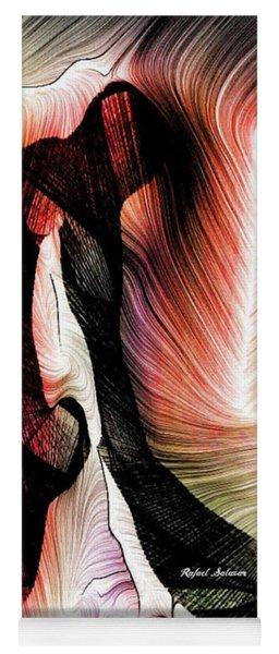Yoga Mat featuring the digital art Exploring Nature by Rafael Salazar