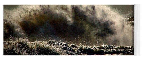 Explosion In The Ocean Yoga Mat