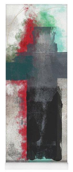 Expressionist Cross 4- Art By Linda Woods Yoga Mat