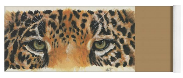 Jaguar Gaze Yoga Mat