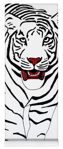Eye Of The Tiger Yoga Mat