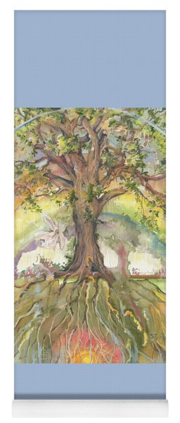 Eye See My Healing Tree Yoga Mat