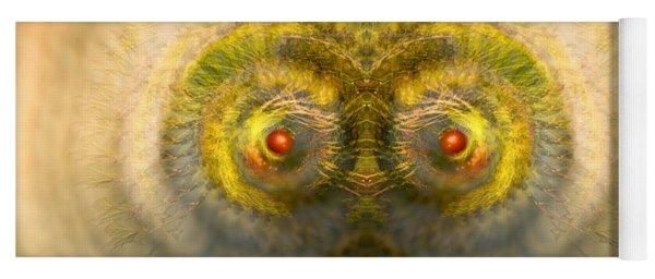 Eyes Of The Garden-1 Yoga Mat