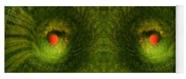 Eyes Of The Garden-2 Yoga Mat