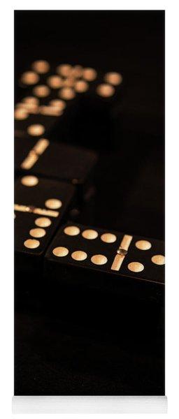 Fading Dominos Yoga Mat