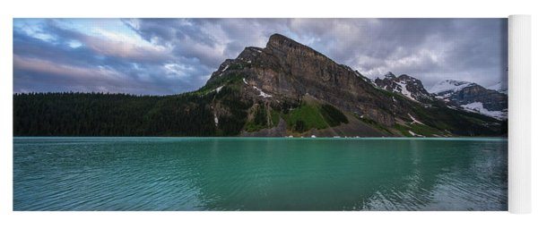 Fairview Mountain And Lake Louise Yoga Mat