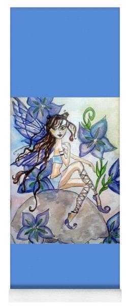 Fairy Blue Yoga Mat