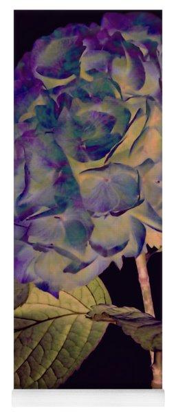 Fairy Hydrangea Yoga Mat