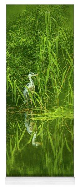 Fairy Tale Heron #g5 Yoga Mat