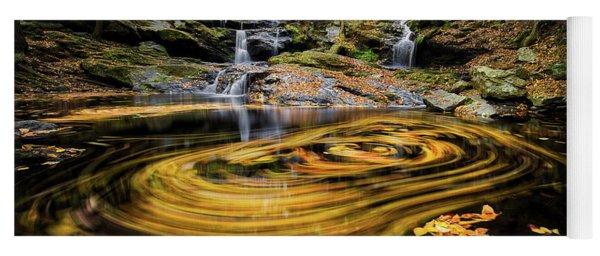Fall At Garwin Falls Yoga Mat
