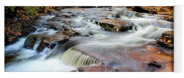 Fall At Gunstock Brook II Yoga Mat