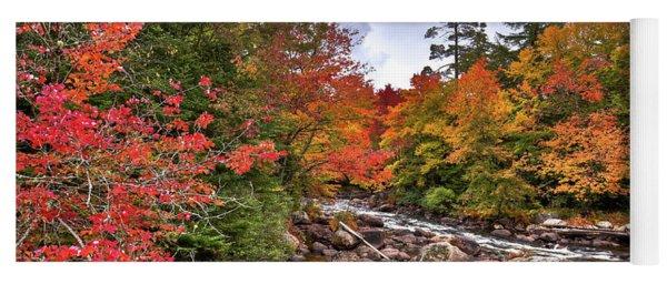Fall At Indian Rapids Yoga Mat