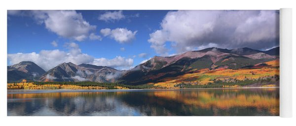 Fall At Twin Lakes Yoga Mat