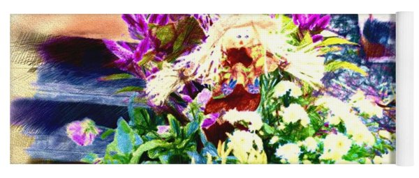Fall Bouquet Yoga Mat